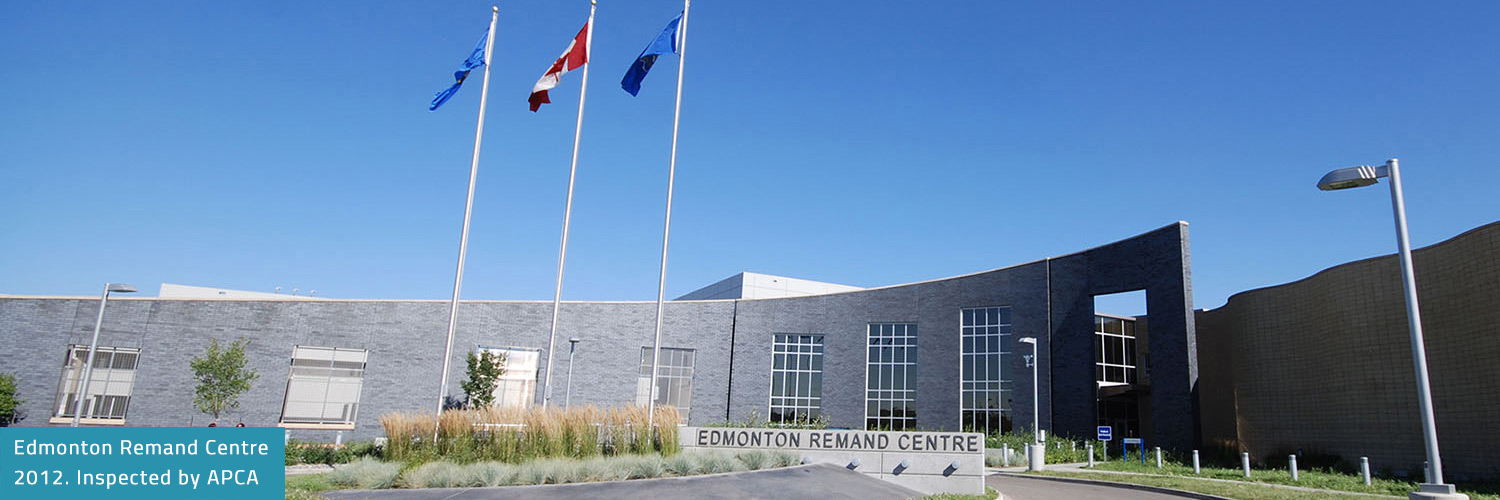Rocky Ridge Recreation Centre. Inspected. Painted by member Calibre Coatings Ltd, Calgary.